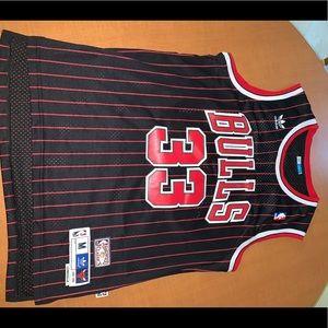 Hardwood Classics NBA Jersey Chicago Bulls Pippen